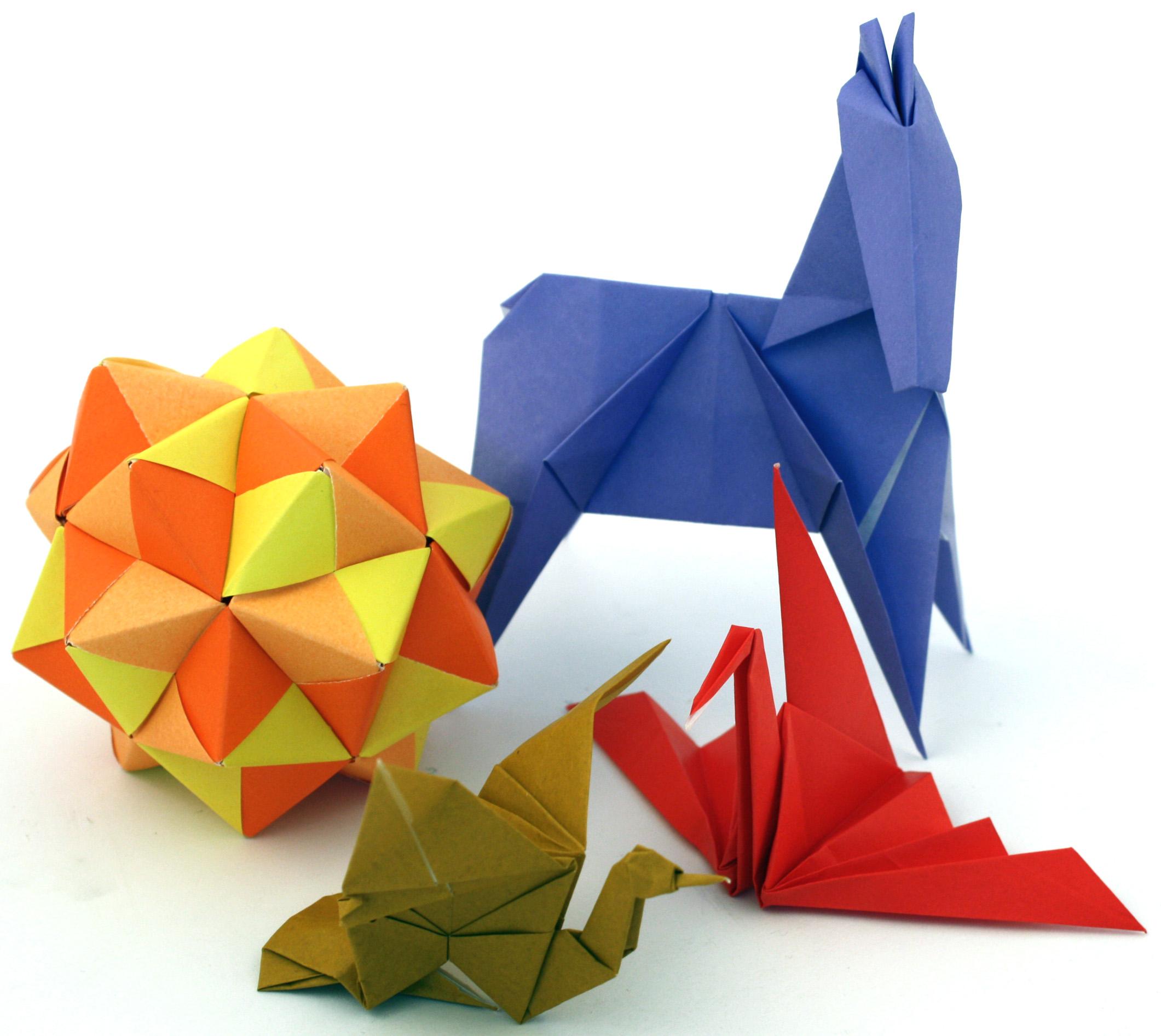 Фигурки оригами картинки, открытка