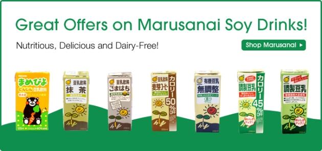 Great Offers on Marusanai Soy Drinks!