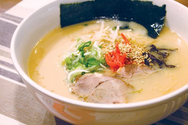 ramen pork creamy recipe Japan at specialty. available Kyushu Tonkotsu Now a Ramen, Hakata,