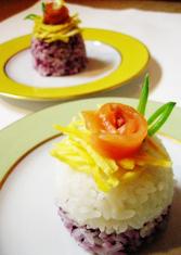 Chirashi Sushi Cupcake