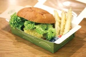 Salmon Tempura Burger