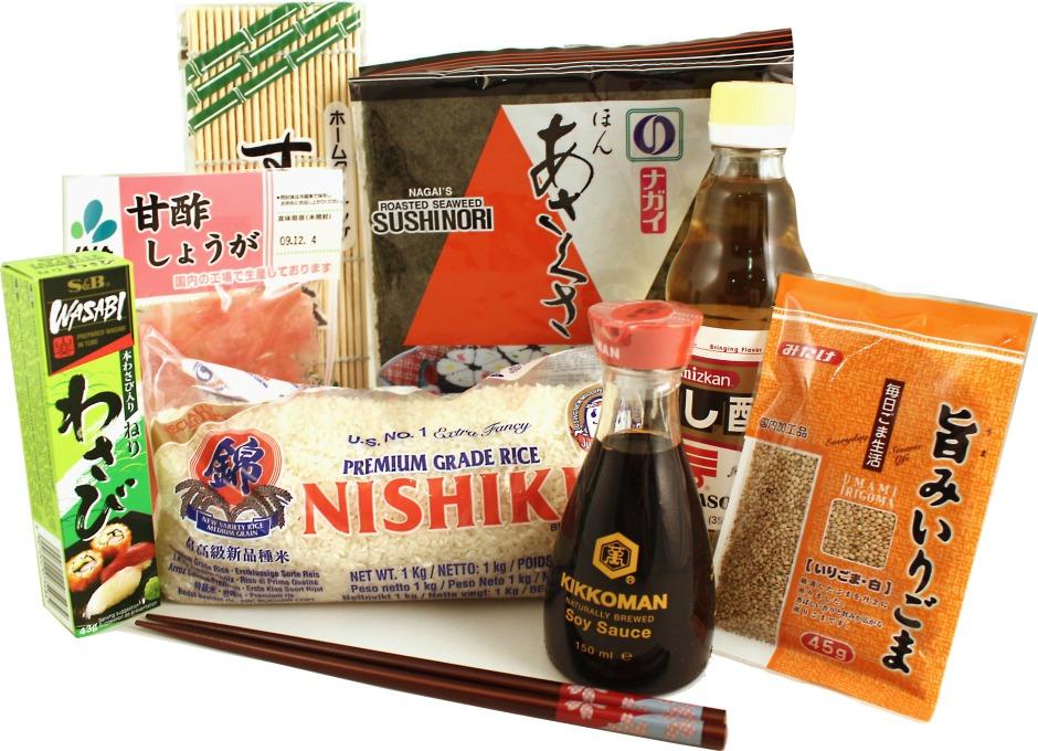 japan centre sushi kit