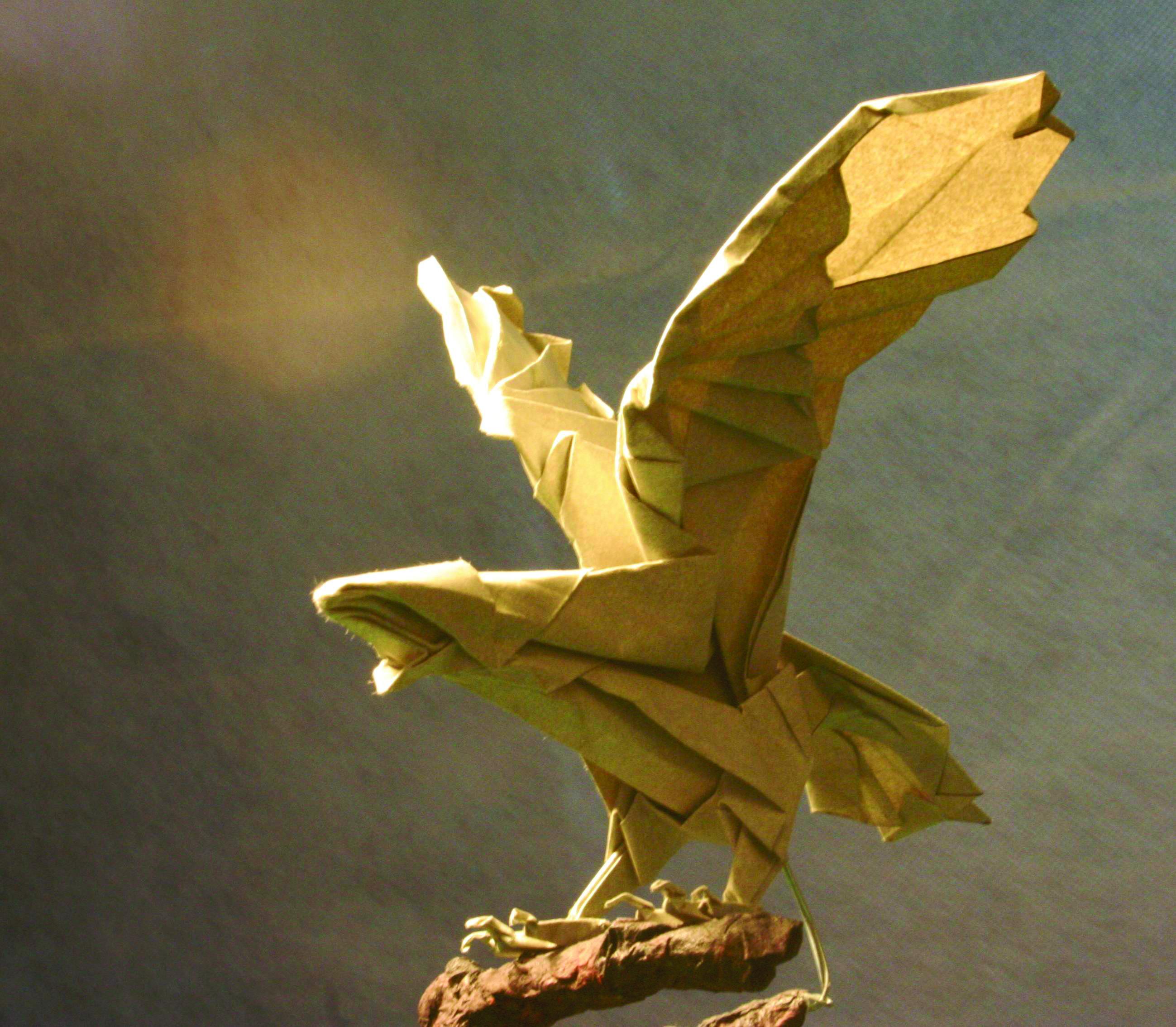 origami demonstration amazing paper sculptures japancentre blog. Black Bedroom Furniture Sets. Home Design Ideas