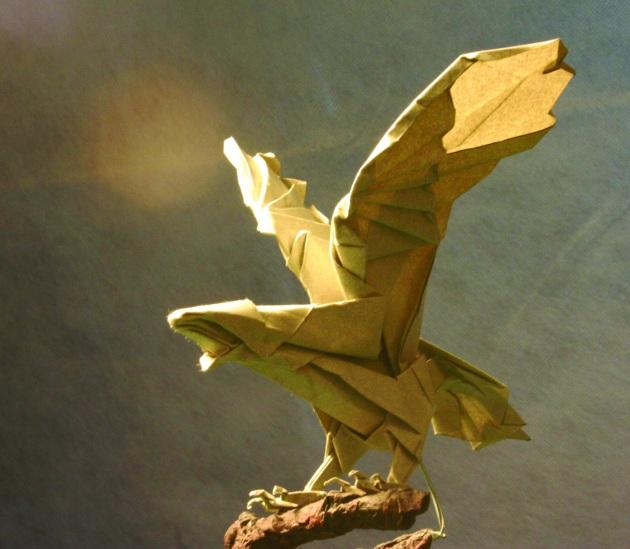 eagle origami