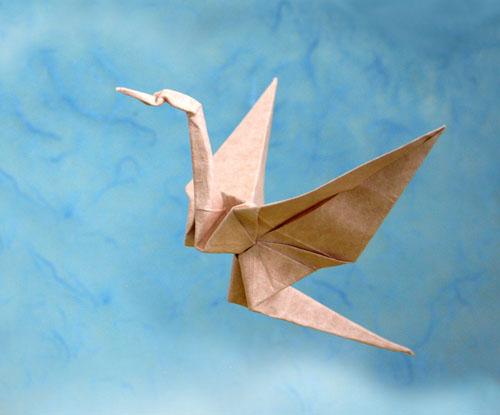 sky crane origami
