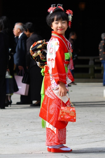 Girl at Shichi-go-san