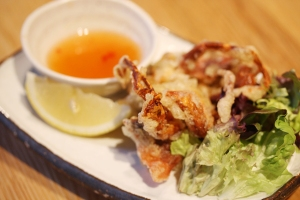 soft shell crab tatsutaage