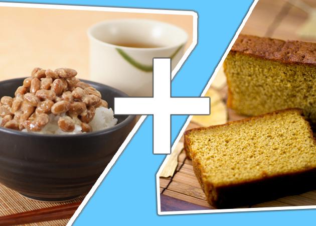 Natto + Cake!?