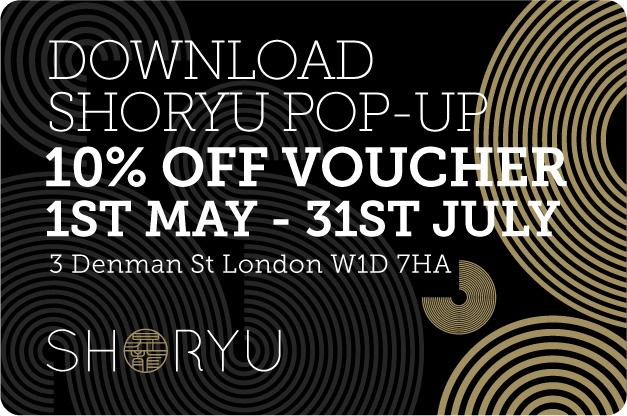 Shoryu Soho 10% Off Voucher
