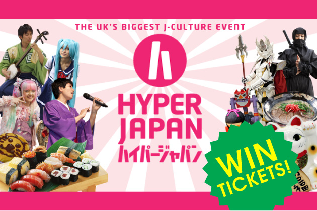 Hyper Japan WIN TICKETS!