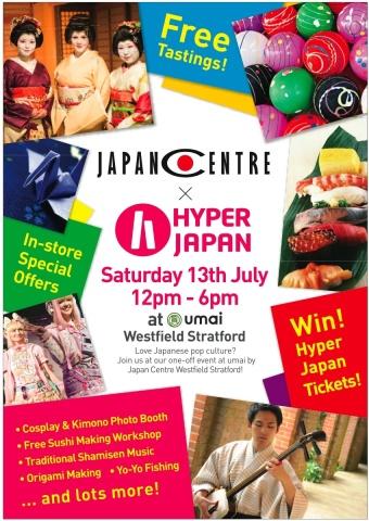 Japan Centre x Hyper Japan