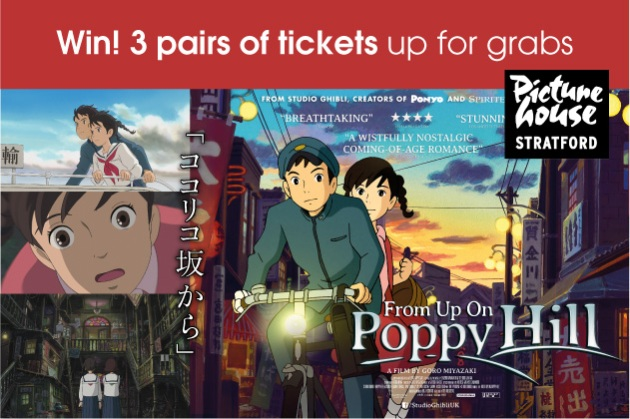 Win Tickets to See From Up On Poppy Hill at Stratford East Picturehouse!