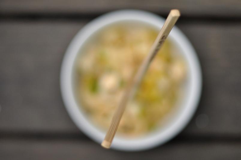 Chopsticks in Noodles
