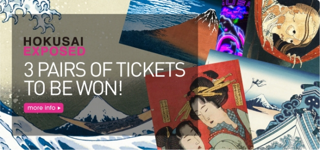 Hokusai Exposed: Win Tickets!