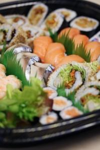 Festive Sushi Platter
