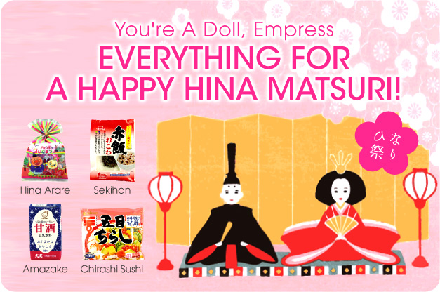 You're A Doll, Empress: Everything for a Happy Hina Matsuri!