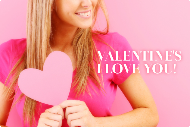 Valentine's I Love You