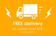 Free Delivery Over £75!