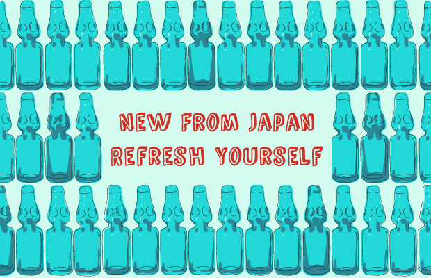 New From Japan - Refresh Yourself