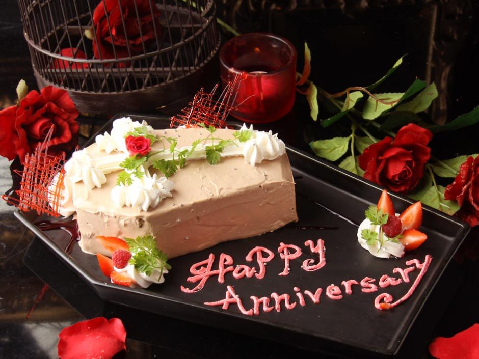 Vampire Cafe Coffin Cake