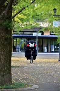 Kumamon on his Bike