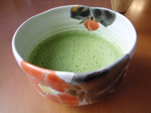 Matcha Green Tea in Chawan Bowl