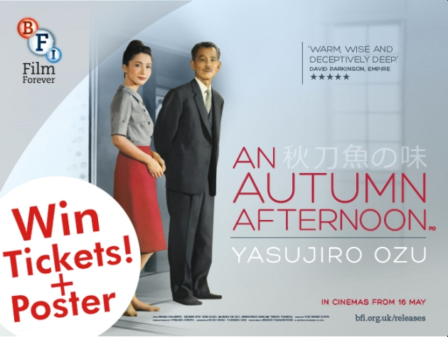 COMPETITION: Win Tickets to See An Autumn Afternoon + Poster!