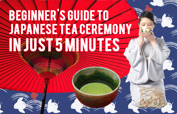 Beginner's Guide to Japanese Tea Ceremony in Just 5 Minutes