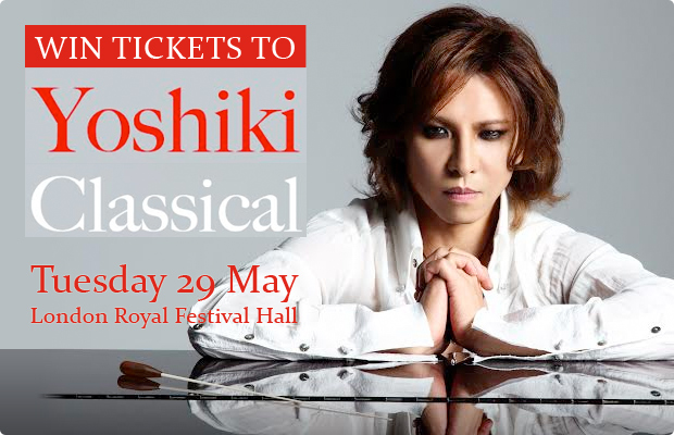 COMPETITION: Win Tickets to Yoshiki Classical!
