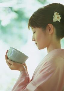 Enjoying some nice tea