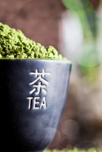 Matcha Green Tea in a Cute Cup