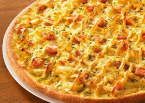 Domino's Japan Mayo Potato Pizza