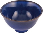 CNB Burnished Navy Blue Ceramic Rice Bowl