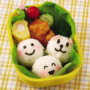 Smiley Face Nori Bento