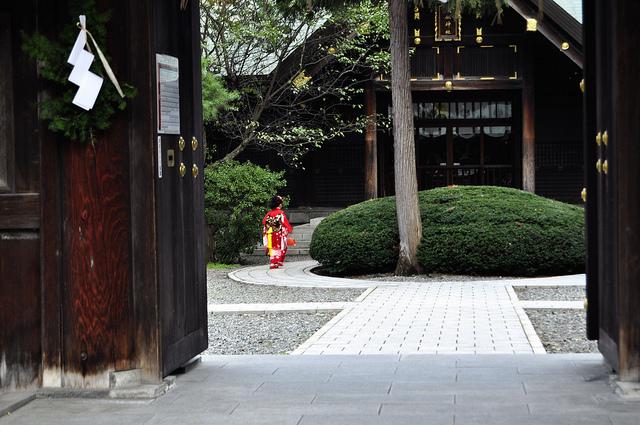 Shichi go san temple