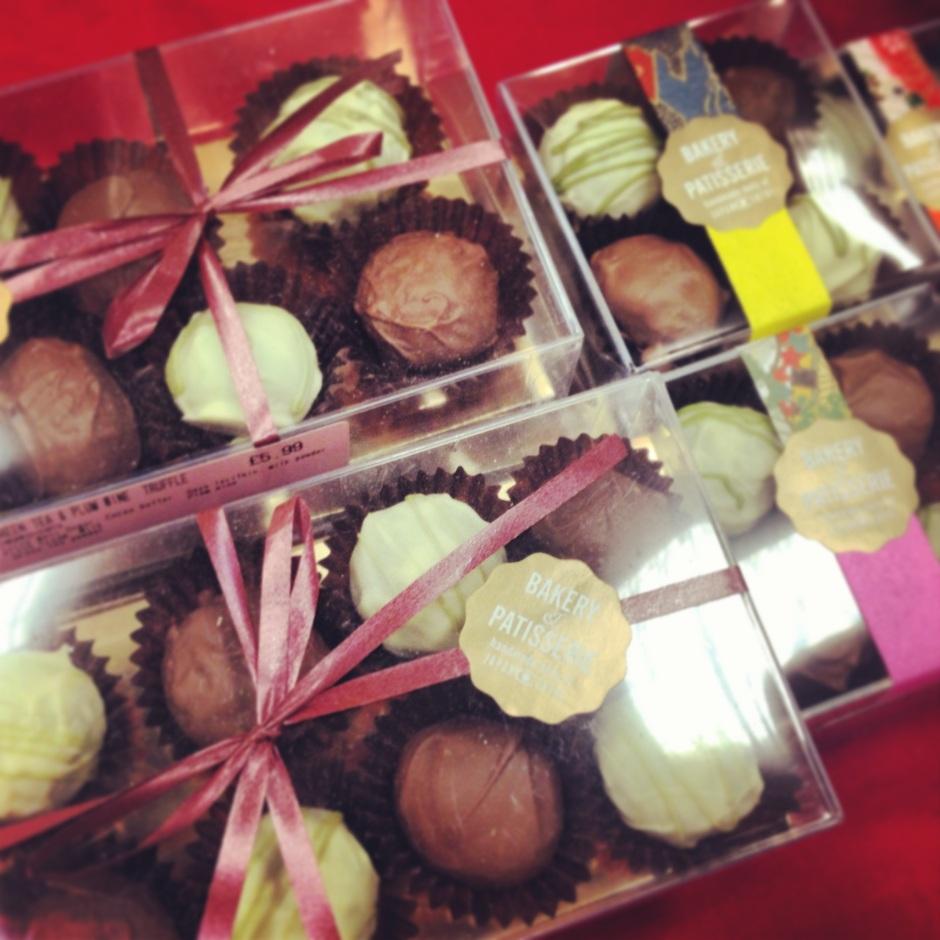 Christmas blog matcha chocolates