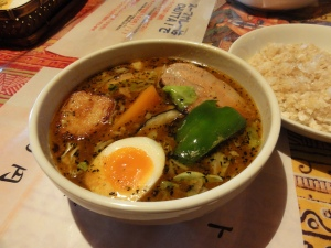 Sapporo soup curry