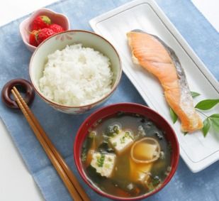 Healthy Japanese Breakfast