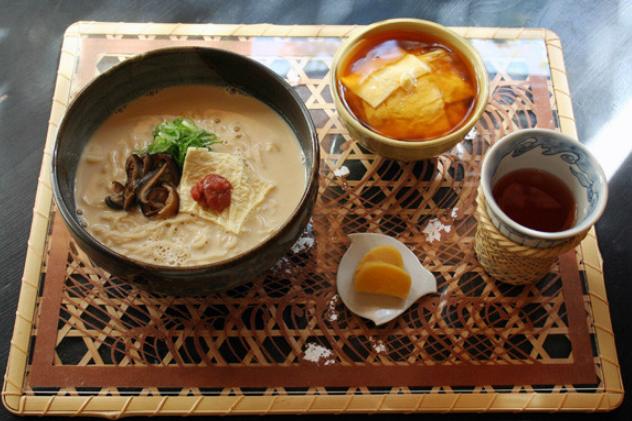 KYOTO - soy milk ramen