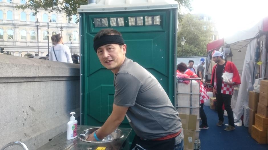 Shoryu Executive Chef Kanji Furukawa