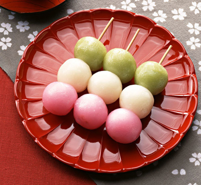 Three-Colour-Dango