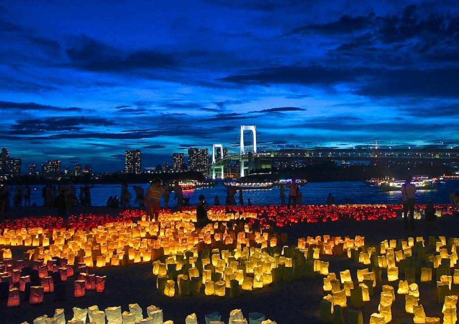 Lanterns in Odaiba, Tokyo