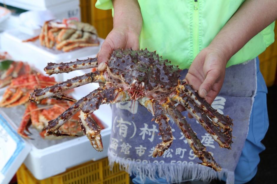 Hokkaido crab