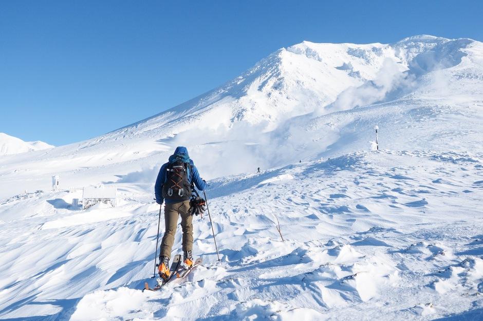 Hokkaido skiing